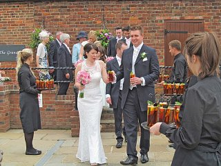 Lincolnshire Civil Ceremony in a Barn